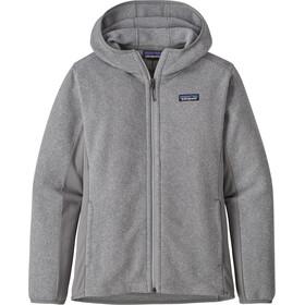Patagonia Lightweight Better Hættetrøje Damer, grå